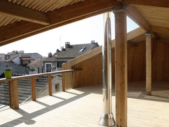 Toiture-terrasse - Maison Cosse - ARBA Architecture