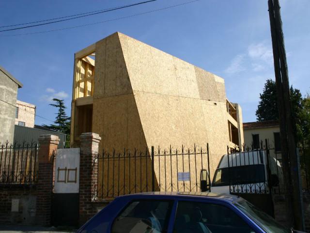 maison d 39 architecte 1 crin de bois po tique et cr atif montreuil. Black Bedroom Furniture Sets. Home Design Ideas