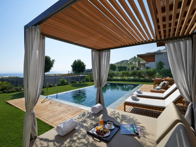 H tel mandarin oriental bodrum destination de r ve au for Images de terrasses amenagees