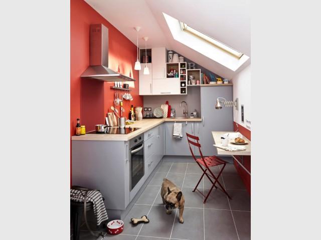Top Aménager une cuisine dans moins de 6 m2, c'est possible ! BO53