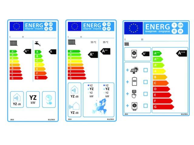 Les différentes étiquettes énergie