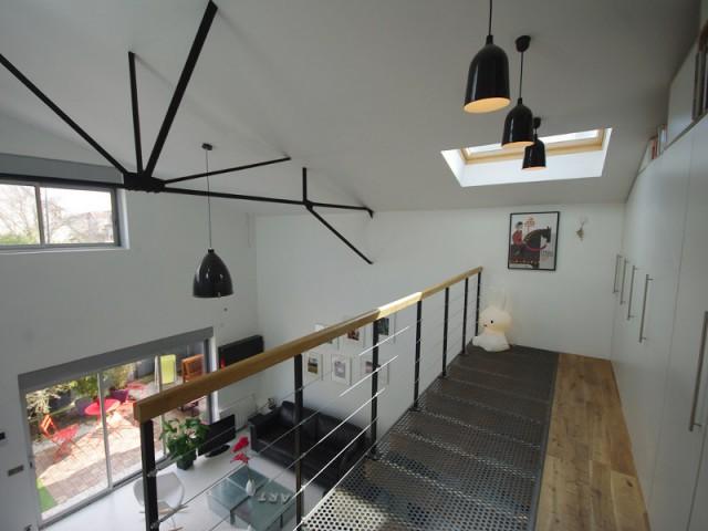 1 vide sur s jour pour plus de lumi re dans la maison for Le vide interieur