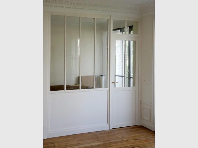une verriere interieure agrable prix d une verriere interieure meuble haut cuisine brico depot. Black Bedroom Furniture Sets. Home Design Ideas