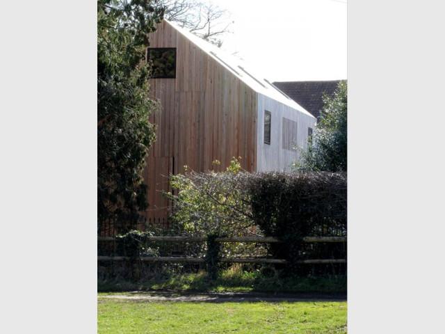 Une maison bardage bois
