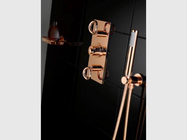 d co la tendance du cuivre ros tout prix. Black Bedroom Furniture Sets. Home Design Ideas