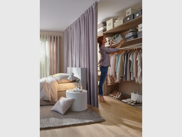 Dressing quelles configurations possibles for Placard tete de lit