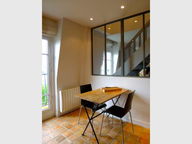 Une table chinée pour la cuisine - Avant/après : un duplex valorisé et optimisé