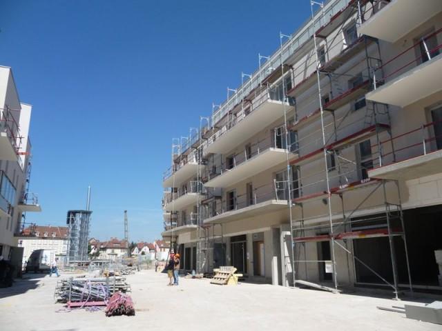 logement neuf en chantier