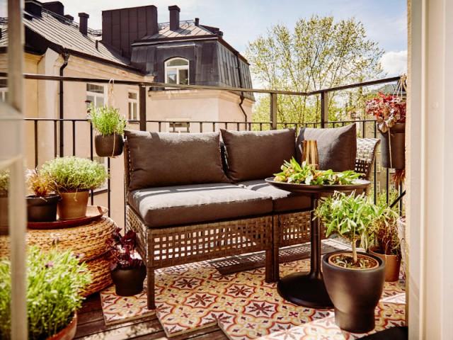 petit balcon 10 am nagements gain de place. Black Bedroom Furniture Sets. Home Design Ideas