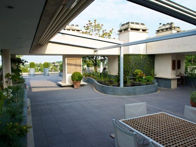 2 Pergolas 2 Espaces Sur Une Toiture Terrasse