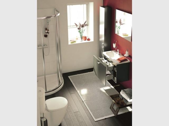 petits espaces 10 meubles sous vasque pour une petite. Black Bedroom Furniture Sets. Home Design Ideas