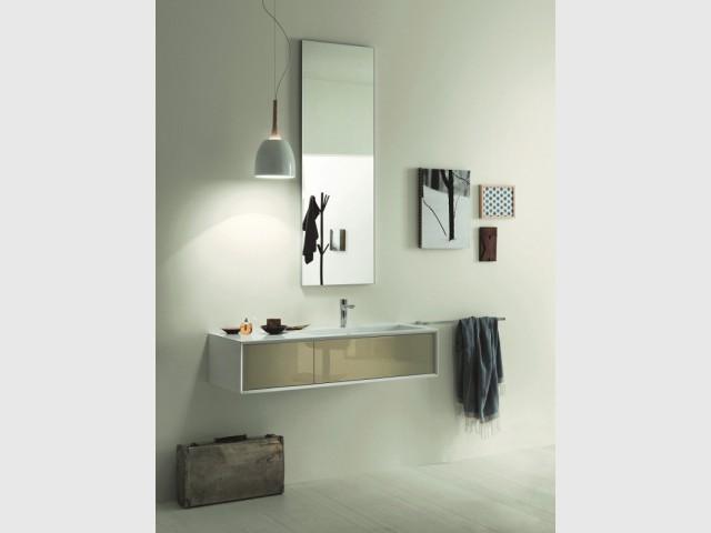 Petits espaces 10 meubles sous vasque pour une petite - Meuble vasque pour petite salle de bain ...