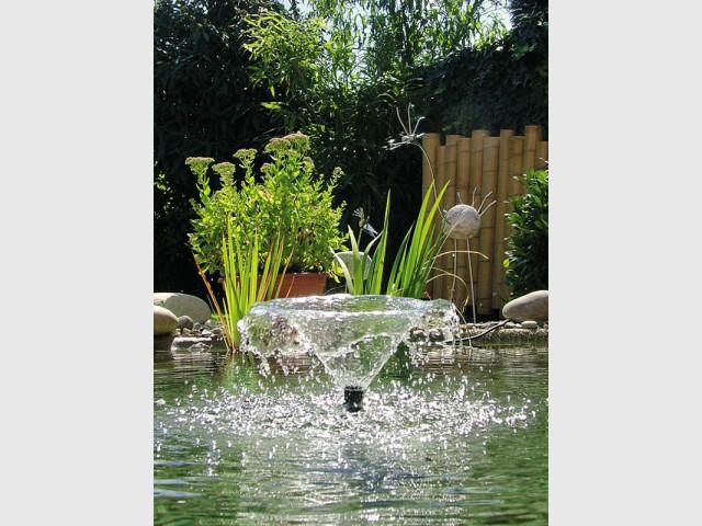 1 beau bassin pour mon jardin for Bassin eau jardin