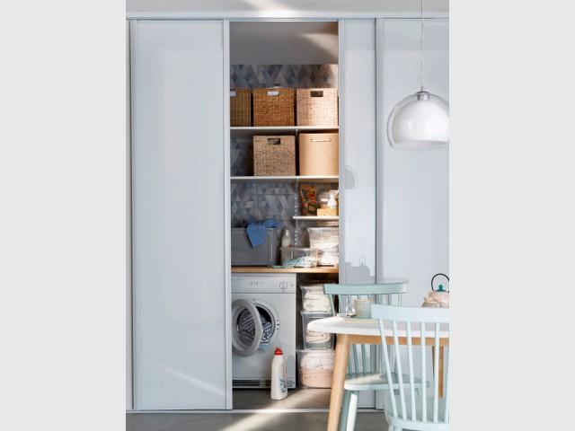 10 buanderies pratiques et astucieuses. Black Bedroom Furniture Sets. Home Design Ideas