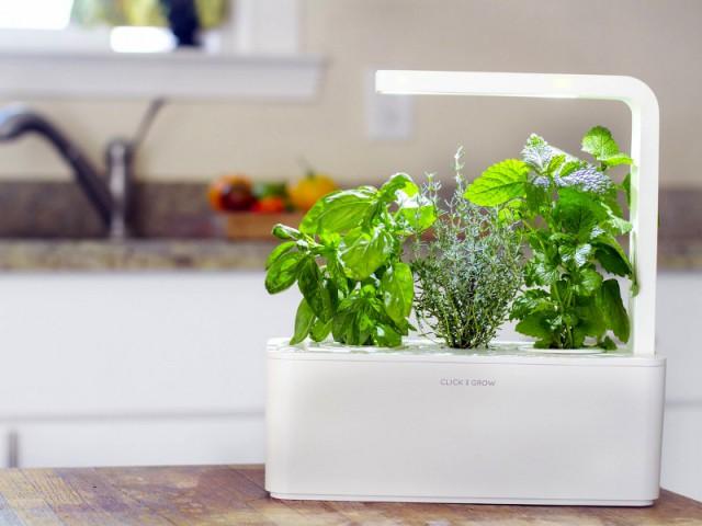 SmartHerbGarden, le potager d'intérieur avec cartouches à clipser