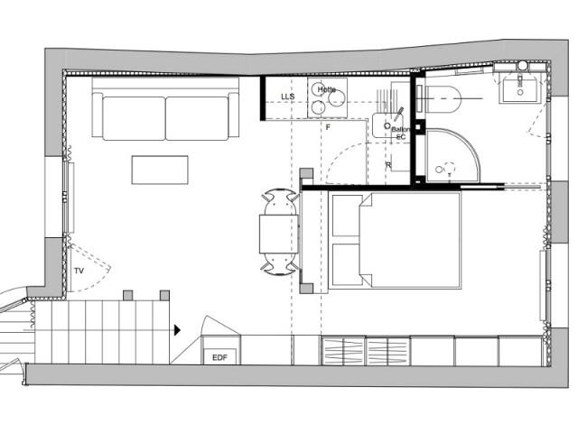 Plan du studio