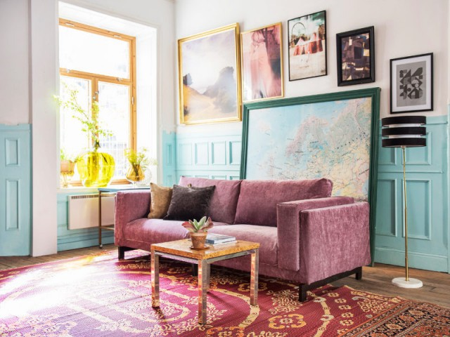 canap vieux rose dq62 jornalagora. Black Bedroom Furniture Sets. Home Design Ideas