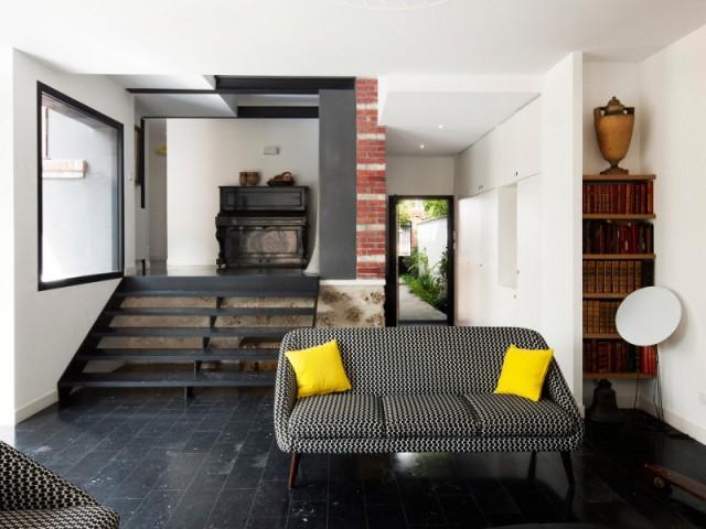 Une jonction subtile entre maison et extension