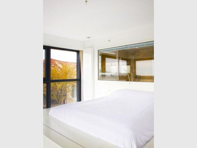 Une salle de bains ouverte sur l'extérieur - Là-haut sur la colline...