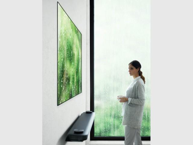 LG Signature W7, l'écran de télévision OLED 4K, récompensé au CES 2017