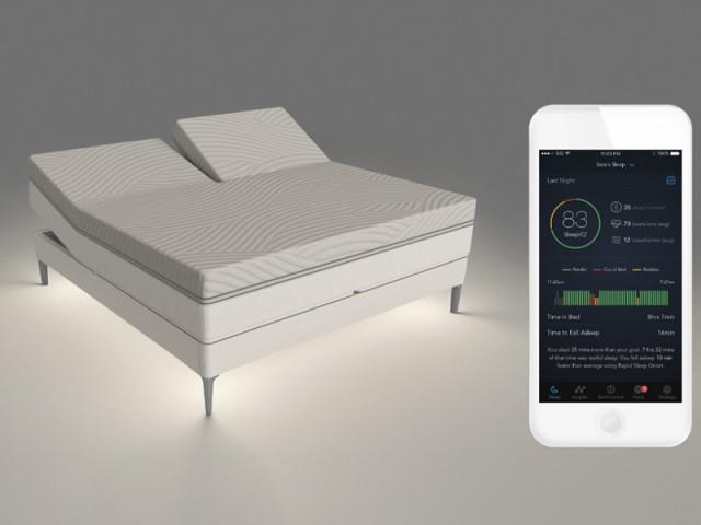 Sleep Number 360 smart bed, la literie intelligente, récompensée au CES 2017