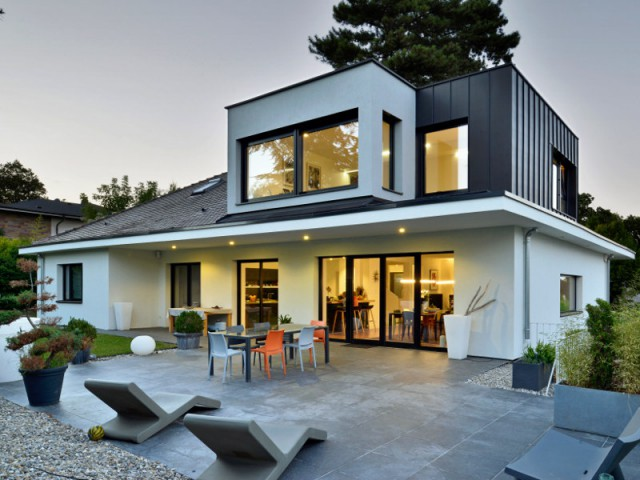 Rénovation d'une maison d'architecte des années 60