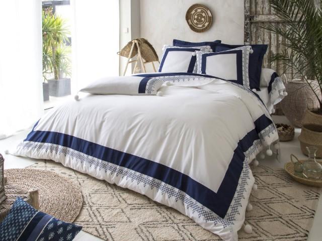 linge de lit esprit ethnique chic 10 photos pour vous inspirer. Black Bedroom Furniture Sets. Home Design Ideas