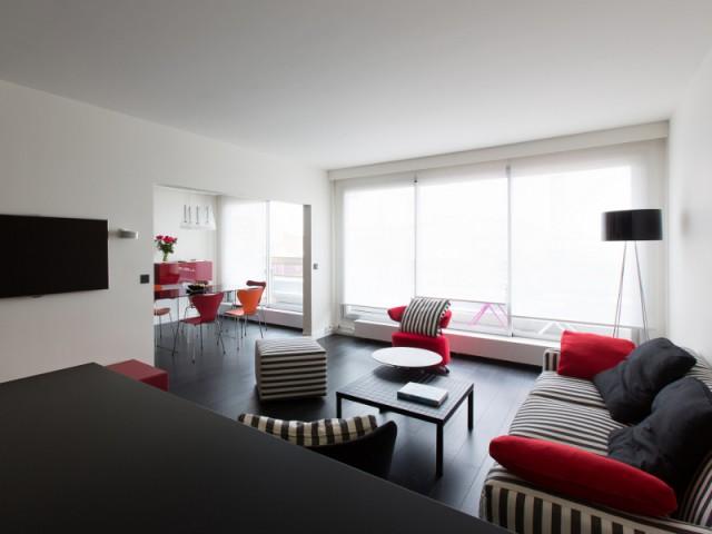 Un appartement baigné de lumière
