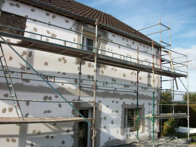 L'option de l'ITE adaptée à la situation - Isolation thermique par extérieur pour une maison