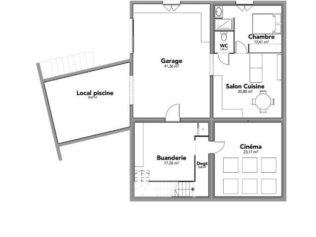 100 m² de surface à imaginer - Maison à Narbonne
