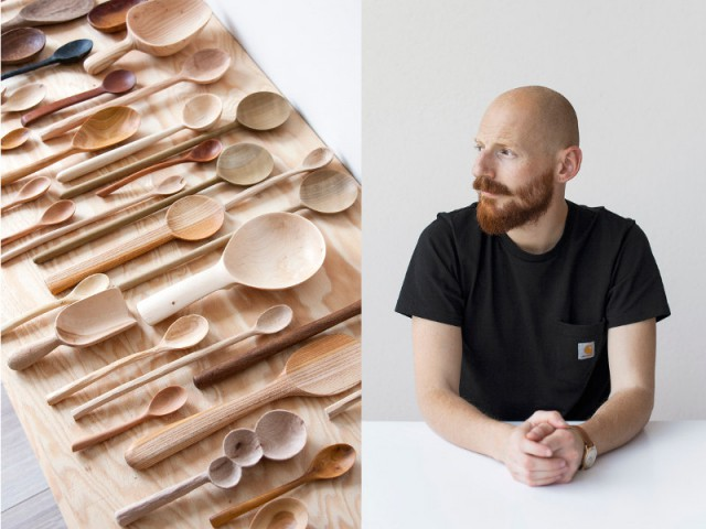 Ferréol Babin, designer d'objets uniques en bois