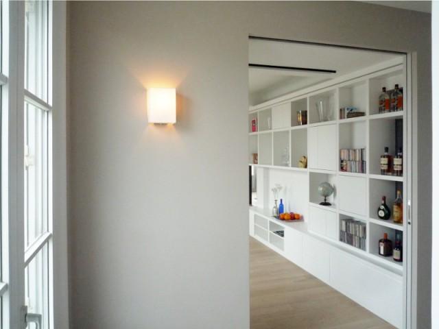 Un duplex familial composé de deux appartements et de combles aménagés
