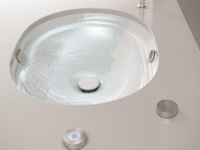 Un lavabo qui se nettoie tout seul