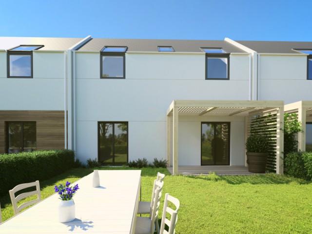 Une maison conçue pour s'intégrer en zone urbaine