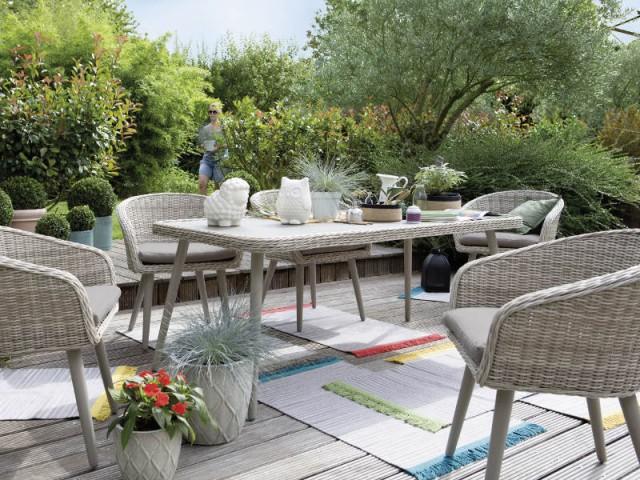 Tapis de terrasse 10 mod les pour s 39 inspirer - Tapis exterieur maison du monde ...