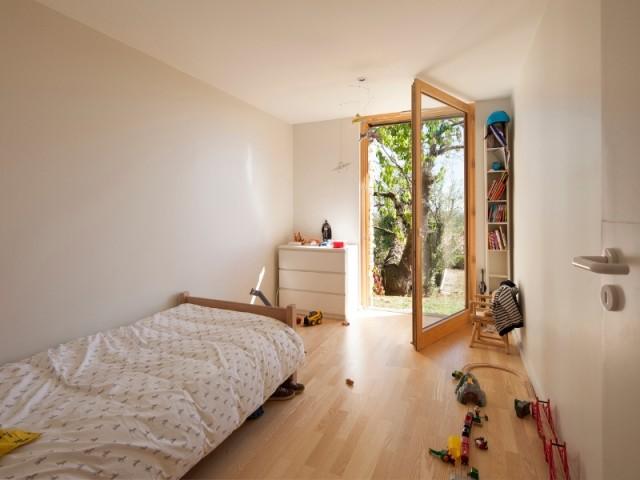 Des chambres avec accès direct sur l'extérieur