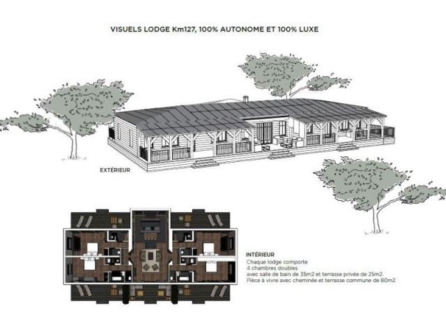 le premier h tel de luxe autonome en nergie ouvrira en 2019 en normandie. Black Bedroom Furniture Sets. Home Design Ideas