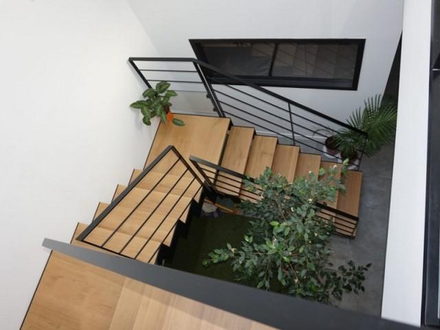 L'escalier au coeur de la maison
