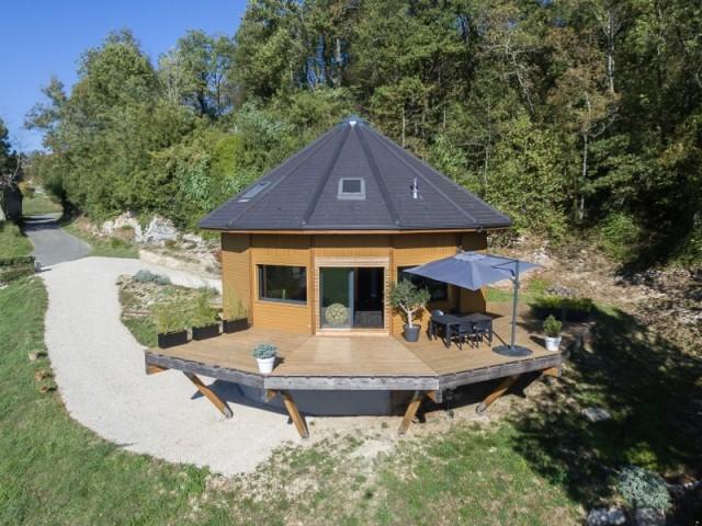 Une maison panoramique