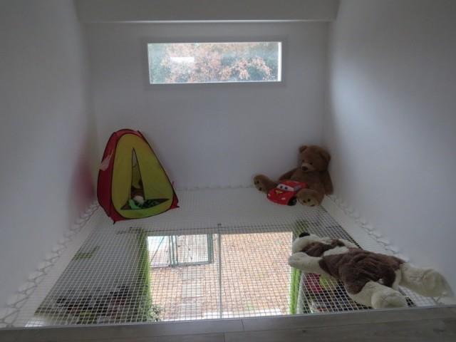 Création d'une chambre d'enfant au dessus d'un sal