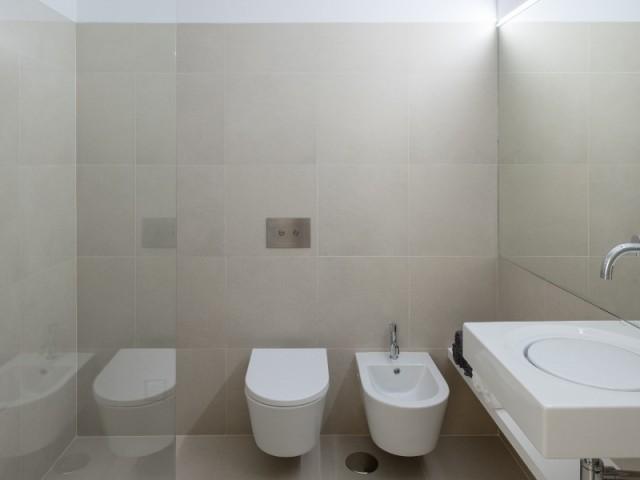 Touche contemporaine pour la salle de bains