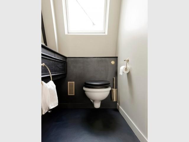 Art déco jusque dans les toilettes