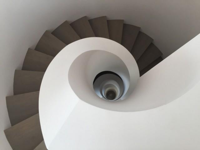 Un escalier comme une oeuvre d'art