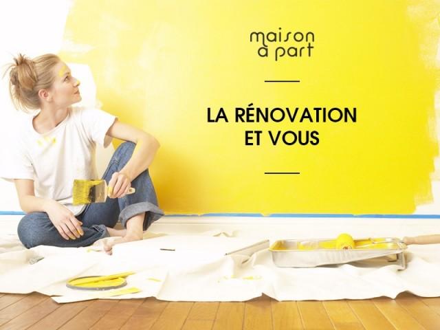 """Enquête """"La rénovation et vous"""""""