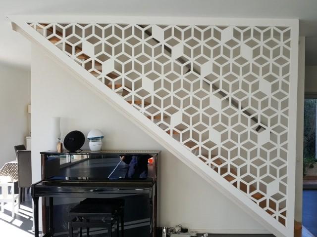 rangements et am nagements sous l 39 escalier 15 exemples malins. Black Bedroom Furniture Sets. Home Design Ideas
