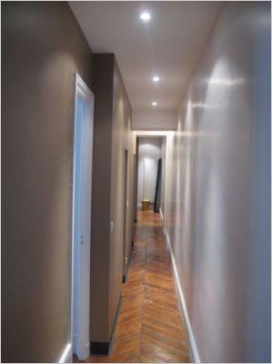 Appartement design tous les objets de d coration sur elle maison - Couleur couloir appartement ...