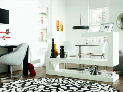 astuces pour s parer sans cloisonner notre loft. Black Bedroom Furniture Sets. Home Design Ideas