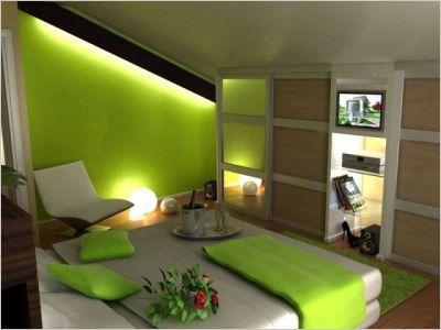 Awesome Chambre Vert Et Gris Ideas - Matkin.info - matkin.info