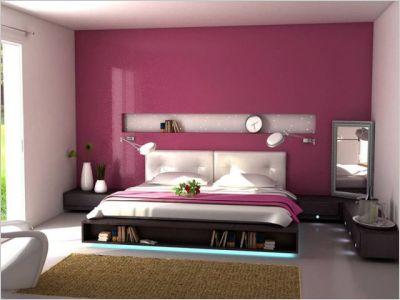 Deco chambre marron et rose ~ Design de maison