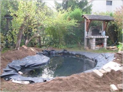 Bassin jardin construire